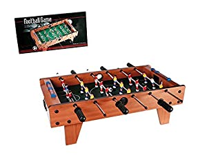 OOTB Wooden Table Football Game 69x36.5x24cm