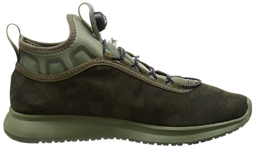 Reebok Pump Plus Camo, Scarpe da Trail Running Uomo Verde (Moss / Hunter Green)