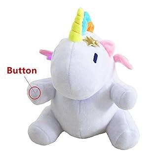 Aardvark Art 26cm LED Nachtlicht Einhorn Weiß mit Farbwechsel
