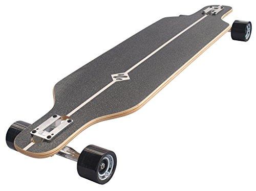 Streetsurfing Street Surfing Longboard Freeride 39, Design: Battle, Black, 500226 The -