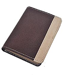 Credit Card ATM Card Case Holder Leather Brown Best Gift For Yourself or Your Loved Ones - 22 Card Slots