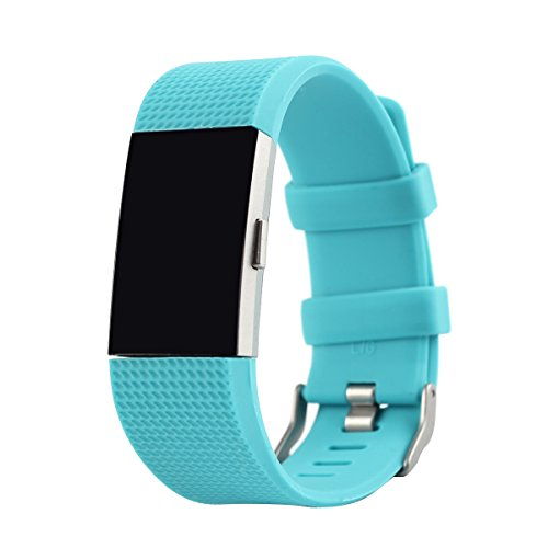 BillionGroup Replacement Armband für Fitbit Charge 2 Armband Sport Smart Watch Silikon Strap Replacement Wrist Uhrenarmband Ersatzband für Fitbit Charge 2 Fitness tracker