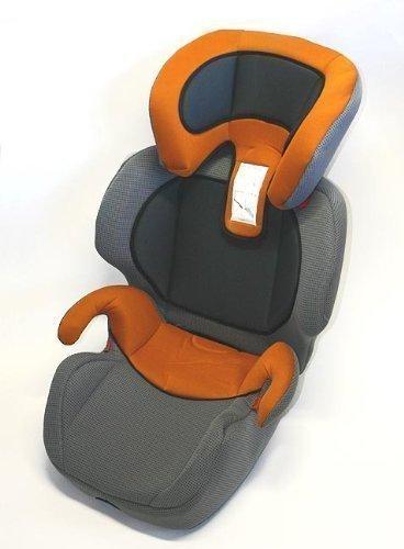 Kindersitz Michelangelo anthrazit/orange Gr. 2+3 15-36kg E4 ECE R44/04