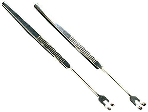 Servoprax R2 128 Wund und Trachealhäkchen, 2 Zinken, Scharf 15,5 cm - Chirurgische Retraktoren