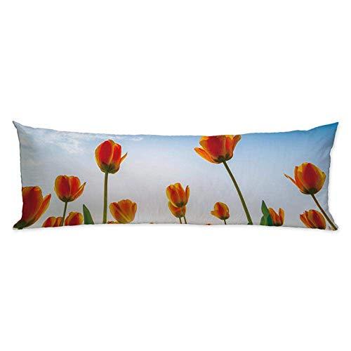 CiCiDi Tulipanes de Oro para Primavera y Cuerpo, cojín ...