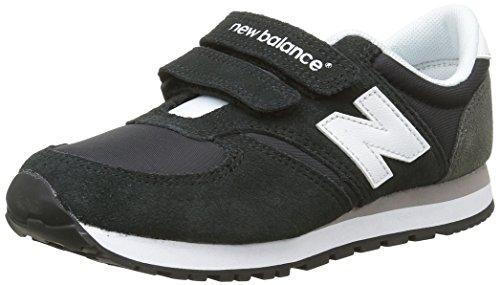 New Balance Ke420, Unisex-Kinder Sneakers Schwarz (bki Black/grey)