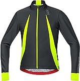 GORE BIKE WEAR Men's Cycling Jacket, Oxygen WINDSTOPPER Jersey Long, SWOXLM