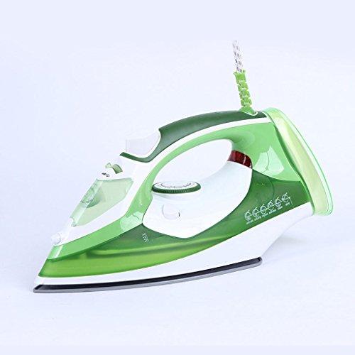 LT&NT Plancha de vapor Placa de base de cerámica Plancha de vapor Plancha eléctrica (verde)