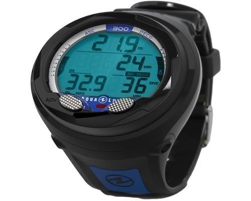 Aqualung I300 Tauchcomputer - schwarz / blau - Blitzlieferung