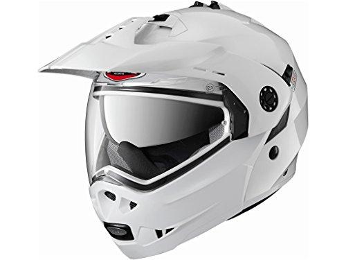 Caberg Tourmax Motorcycle Helmet M White