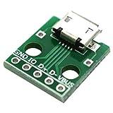 SLB Works 1pcs Micro-USB to Dip The Femal B-Type Micro-5p PTP Adapter Board 1.56 * 1.33 W2Q2