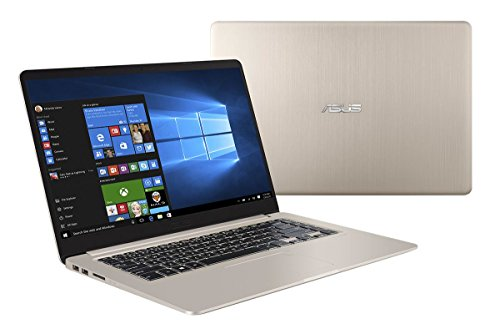 "Asus VivoBook S15 S510UN-BQ240T Notebook, Display da 15.6"", Processore I7-8550U, 1.8 GHz, SSD da 512 GB, 16 GB di RAM, nVidia GeForce MX 150, Oro/Metallo [Layout Italiano]"