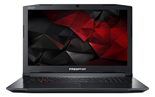 Acer Predator Helios 300 PH317-51-58Y2 17.3-inch Full HD Gaming Notebook (Intel Core i5-7300HQ Processor, 8GB RAM, 1TB HDD & 128GB SSD, NVIDIA GTX 1050Ti, VR Ready, Windows 10, Black)
