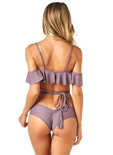 Triangel Bandeau Sport Bikini Top Badeanzug Bikinis Push Up Bademode ...