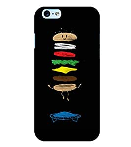 Citydreamz Burger/Junk Food/Abstract Hard Polycarbonate Designer Back Case Cover For Apple Iphone 6 Plus/6S Plus