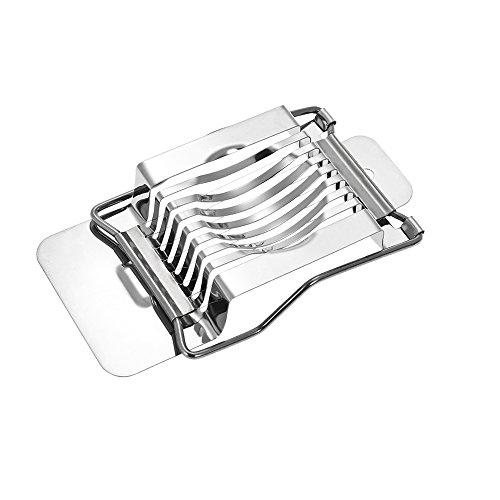 Godyluck Küche Edelstahl Eierschneider Draht Ei Käse Chopper Dicer Cutter Werkzeug für Salate Sandwiches (Metall-ei-chopper)