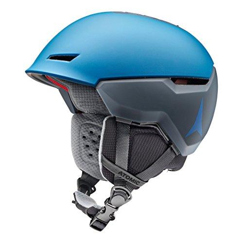 Atomic, Damen/Herren All Mountain Ski-Helm, Revent + LF, Live Fit, Größe M, Kopfumfang 55-59 cm, Blau, AN5005456M