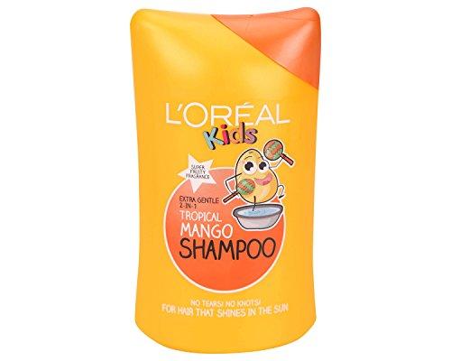 L'Oreal Kids 2 In 1 Tropical Mango Shampoo 250ml Pack of 6