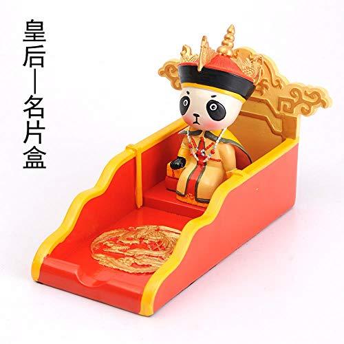 til mit der verbotenen Stadt Giant Panda Puppe Kreative Stifthalter Buchcover Desktop Dekoration Card Case - Minister ()