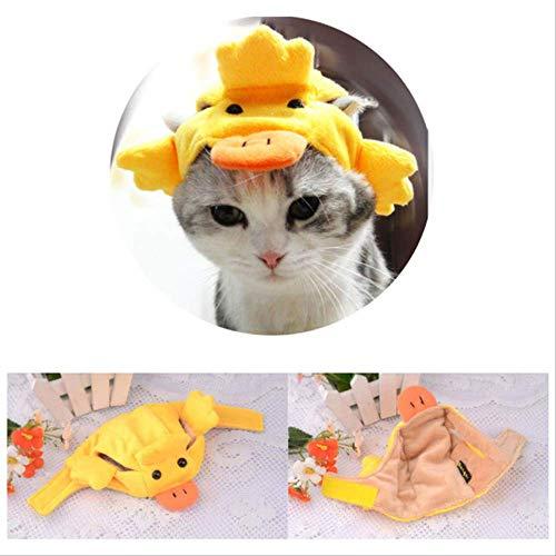 FDCLD Haustier Hunde Katzen Niedlichen Cartoon Tiere Formen Hut Kopfbedeckungen Cosplay Kostüm Kreative Dekoration Für Party Stirnband L 4 (Cartoon Charakter Kostüm Für Partys)