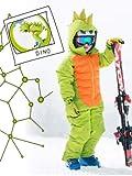 FLASHY STARS Schneeanzug Dino Größe Gr. 122