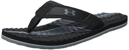 Under Armour Herren UA M Marathon Key III T Badeschuhe, Schwarz (Black), 42.5 EU (Sandalen Von Under Armour)