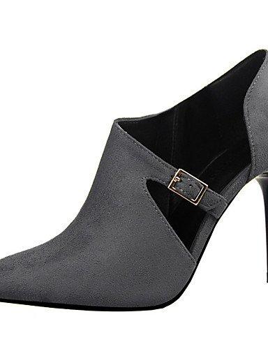 WSS 2016 Chaussures Femme-Extérieure / Bureau & Travail / Soirée & Evénement-Noir / Rouge / Gris / Bordeaux / Kaki / Amande-Talon Aiguille-Talons red-us5.5 / eu36 / uk3.5 / cn35