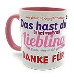 Kinderlampenland Kaffee-Tasse Kollegin Büro Lieblingskollegin Spruch Fröhliche Two-Tone-Tasse Sprüchetasse Geschenk Geburtstag