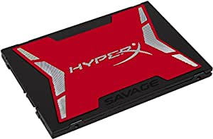 HyperX Savage 240 GB SATA 3 2.5 (7 mm) SSD - Black/Red