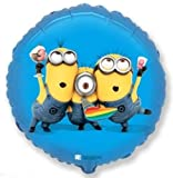 Minions Party Folienballon Heliumballon 45cm