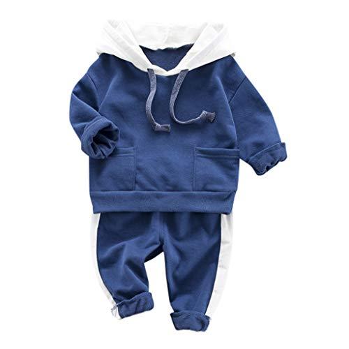 Dasongff Baby Strampler Neugeboren Babykleidung Säugling Baby Junge Mädchen Kapuzenpullover Lange Hülse Tops Täglich Hose Mode Outfits Kleider Set -
