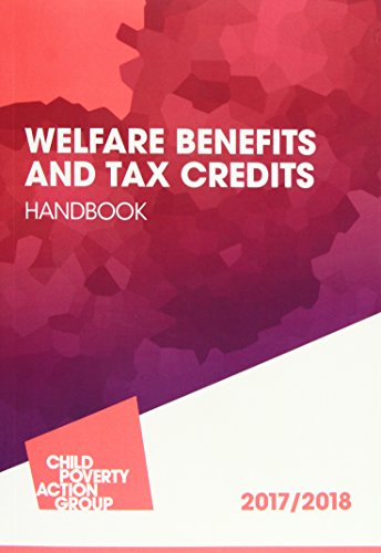 Welfare Benefits and Tax Credits Handbook 2017/18