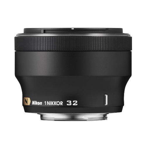Great Buy for Nikon 1 NIKKOR 32mm f/1.2 Lens – Black on Amazon