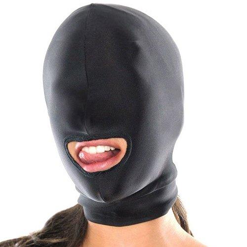 clifcragrocL Sexy Toys Fetisch-Maske mit offenem Mund, für Erwachsene, für Paare, Schwarz (Frauen Zombie-outfits Für)