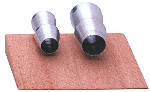 Ochsenkopf OX E-123-0125 Befestigungssatz für Spalthämmer, 2 Ringkeile, 1 Holzkeil Forstwerkzeuge, Silber, 10.0 x 7.0 x 2.0 cm