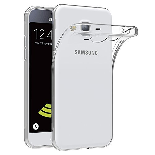 Samsung Galaxy J3 2016 Hülle Case, AICEK [Ultra-Clear] Galaxy J3 2016 Case Silikon Soft TPU Crystal Clear Premium Durchsichtig Handyhülle Schutzhülle Case Backcover Bumper Slimcase für Galaxy J3 2016