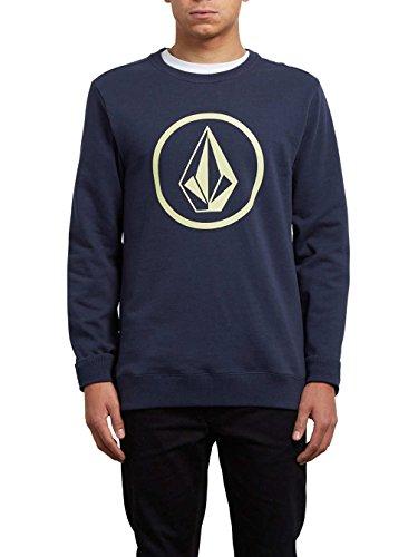 Volcom Stone Crew Sweatshirt, Herren Indigo
