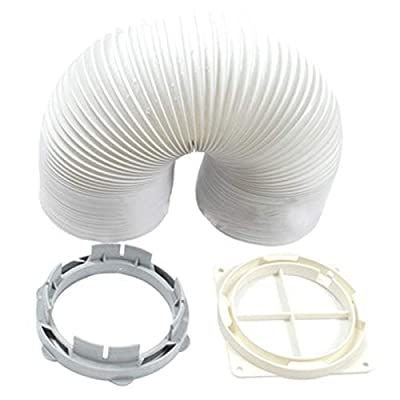 "SPARES2GO 1.5m Vent Hose Kit for White Knight Tumble Dryer (4.1"" Diameter)"