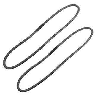 spares2go Seil Dichtung Mesh Dichtung für AGA Serie Herd Platten Deckel (2Stück)