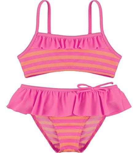 Merry Style Mädchen Bikini Set MSVRKind3 (Rosa/Lachs, 104) -