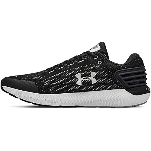 Under Armour Herren Charged Rogue Laufschuhe, Grau (Jet Gray/White/Metallic Silver 100), 45.5 EU