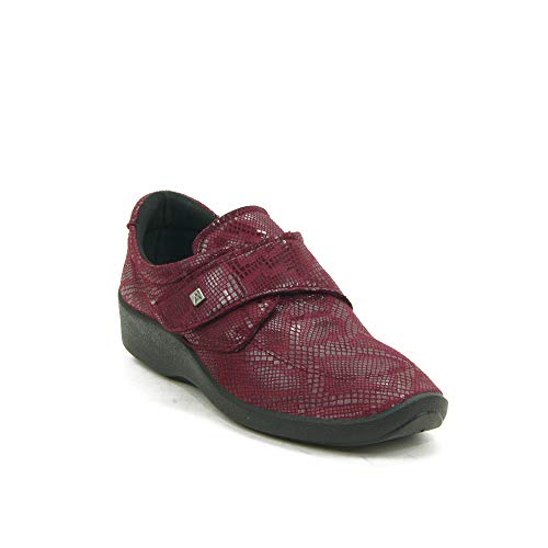 ARCOPEDICO - Zapato Casual para: Mujer Color: Burdeos