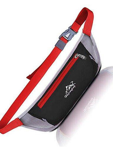 HWB/ 10 L Hüfttaschen Klettern / Fitness / Reisen / Radsport / Laufen Draußen / Leistung / Legere SportWasserdicht / Wärmeisolierung / Schnell Black