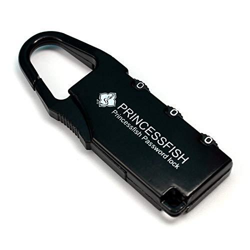 Vincrtnu Passwortsperre Gepäcksperre Turnhalle Gepäck Koffer Passwortsperre Mini Rucksack Passwort Vorhängeschloss Türschlossschwarz -