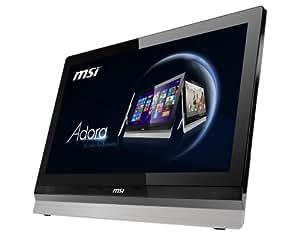 "MSI Aio Adora24-005EU Ordinateur de Bureau Tout-en-Un 24"" (60,96 cm) Intel Core i5 3,2 GHz 1000 Go 8192 Mo Intel HD Graphics 4000 Windows 8 Argent"