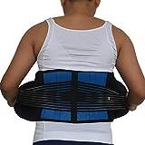 LLZGPZBD Unisex Donne Cintura di Sostegno Elastico Cintura Posteriore degli Uomini Posteriore Supporto Brace Supporto Cinghie Lombare Brace Vita Correttore Corsetti di Grandi Dimensioni