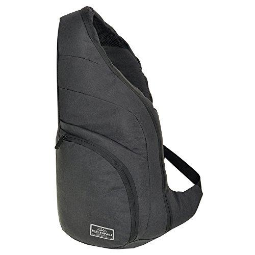 DURCHDACHTER Eingurtrucksack mit Tablet-fach und Organizerfach - Diebstahlschutz - Bodybag KEANU :: Sling Bag Rucksack für Outdoor Radfahren Wandern Reise Schule City :: Daypack Cross Bag (Sling Body Tasche)
