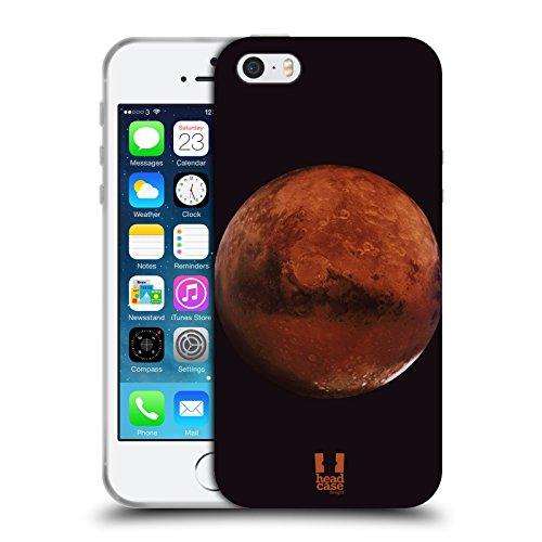Head Case Designs Jupiter Espace Étui Coque en Gel molle pour Apple iPhone 6 / 6s Mars