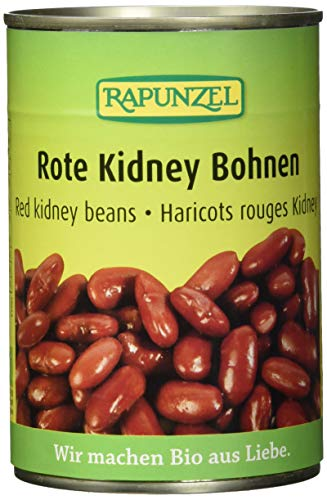 Rapunzel Rote Kidney Bohnen in der Dose, 6er Pack (6 x 400 g) - Bio