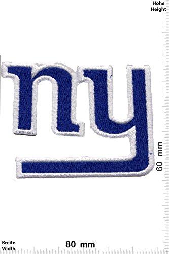 Patch - New York NY Giants NFL - Sport USA - Sport USA - New York NY Giants - Aufnäher - zum aufbügeln - Iron On